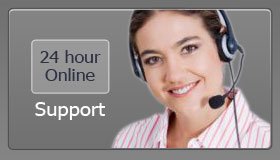 24 Hour Online Support